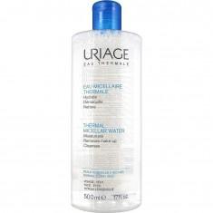 Мицеллярная вода очищающая для нормальной и сухой кожи Thermal Micellar Water Normal To Dry Skin Uriage