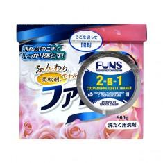 Funs Порошок стиральный концентрированный 2 в1 с кондиционирующим эффектом, 900 гр