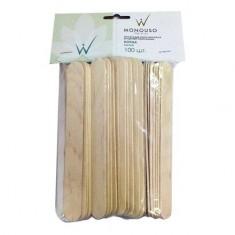 Italwax, Шпатель деревянный (100 шт.) White Line