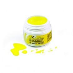 In'Garden, Цветной гель Color gel 28, Желтый неон