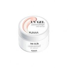 ruNail, Камуфлирующий UV-гель, чайная роза, 56 г