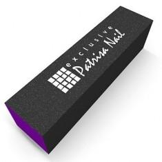 Patrisa Nail, Шлифовочный блок трёхсторонний фиолетовый, 60/80/100