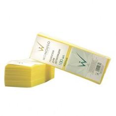 Italwax, Полоски для депиляции, желтые, 7х20 см, 1 упаковка White Line