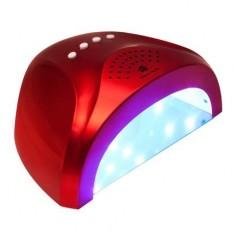 Planet Nails, Лампа UV/LED Sunlight, 24W/48W, красная