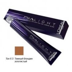 L'Oreal Professionnel Dialight - Краска для волос Диалайт 6.3 Темный блондин золотистый 50 мл L'Oreal Professionnel (Франция)