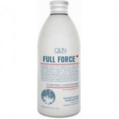 Ollin Professional Full Force Tonifying Conditioner With Purple Ginseng Extract - Тонизирующий кондиционер, 300 мл. Ollin Professional (Россия)
