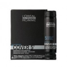 L'Oreal Professionnel Homme Cover - Тонирующий гель 5 №5, 150 мл. L'Oreal Professionnel (Франция)