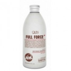Ollin Professional Full Force Intensive Restoring Shampoo With Coconut Oil - Интенсивный восстанавливающий шампунь с маслом кокоса, 300 мл. Ollin Professional (Россия)