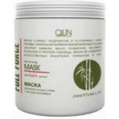 Ollin Professional Full Force Hair&Scalp Mask With Bamboo Extract - Маска для волос и кожи головы с бамбуком, 250 мл. Ollin Professional (Россия)