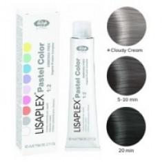 Lisap Milano Lisaplex Pastel Colors Smoky Crystal - Полуперманентная краска для волос, дымчатый кристалл, 60 мл Lisap Milano (Италия)