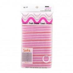 мочалка для душа (28х100)  sungbo cleamy fresh shower towel clean & beauty (28x100)