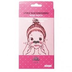 патчи для очищения пор на носу lioele lioele blackhead zero nose patch set