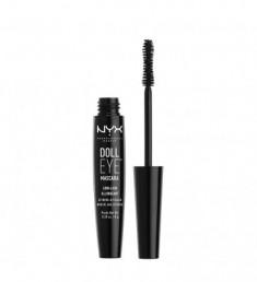 NYX PROFESSIONAL MAKEUP Тушь с эффектом накладных ресниц Doll Eye Mascara Long Lash - Black 01