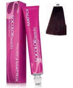 MATRIX 4BR краска для волос, шатен коричнево-красный / СОКОЛОР БЬЮТИ 90 мл