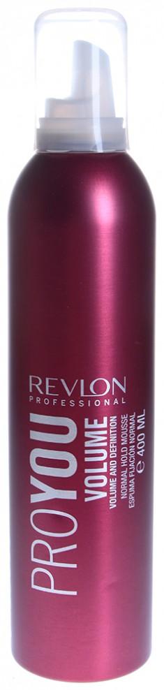 REVLON Professional Мусс нормальной фиксации для объема / PROYOU VOLUME 400 мл