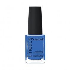 KINETICS 346 лак профессиональный для ногтей / SolarGel Polish Nordic Blue 15 мл