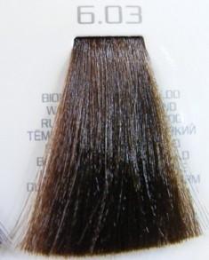 HAIR COMPANY 6.03 краска для волос / HAIR LIGHT CREMA COLORANTE 100 мл