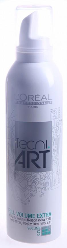 "LOREAL PROFESSIONNEL Мусс для объема нормальных непослушных волос (5) ""Фулл Волюм Экстра"" / TECNI.ART 250мл"