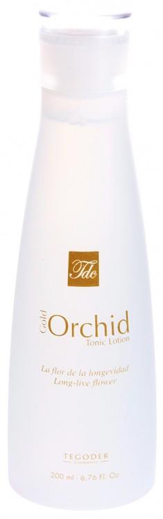 TEGOR Лосьон тоник с хлопком Золотая орхидея / GOLD ORCHID COTTON 200 мл