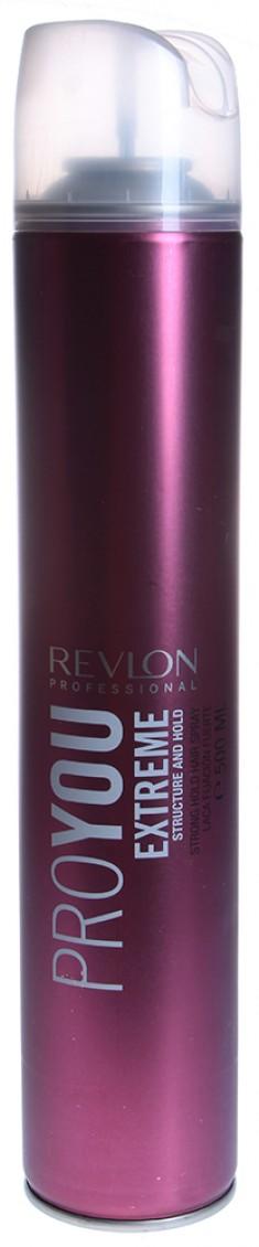 REVLON PROFESSIONAL Лак сильной фиксации для волос / PRO YOU EXTREME 500 мл