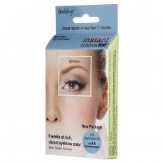 GODEFROY Краска-хна синтетическая в капсулах для бровей, свело-коричневый / Eyebrow Tint Light Brown 4 шт