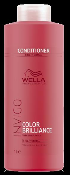 WELLA Бальзам для окрашенных нормальных и тонких волос / Brilliance 1000мл