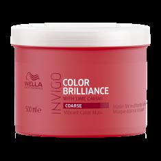 WELLA Маска для окрашенных жестких волос / Brilliance 500мл