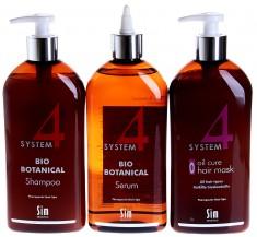 SIM SENSITIVE Комплекс от выпадения волос Макси / SYSTEM 4 3*500 мл