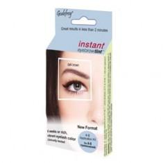 GODEFROY Краска-хна в капсулах для ресниц и бровей, темно-коричневый / Eyebrow Tint Dark Brown 4 шт