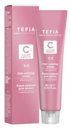 TEFIA 8.4 краска для волос, светлый блондин медный / Color Creats 60 мл