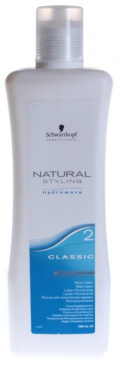 SCHWARZKOPF PROFESSIONAL Лосьон для окрашенных, осветленных и пористых волос Классик 2 / NS Classic 1000 мл