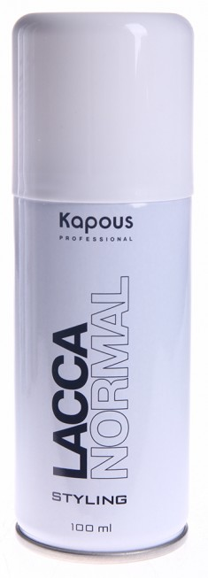 KAPOUS Лак аэрозольный нормальной фиксации для волос 100 мл