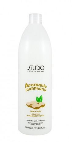 KAPOUS Бальзам для всех типов волос Молочко миндального ореха / Aromatic Symphony 1000 мл