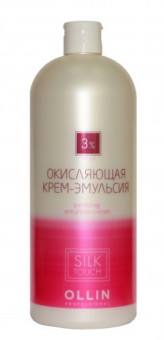 OLLIN PROFESSIONAL Крем-эмульсия окисляющая 3% (10vol) / Oxidizing Emulsion cream SILK TOUCH 1000мл