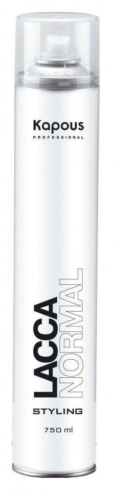 KAPOUS Лак аэрозольный для волос нормальной фиксации 750мл