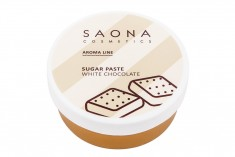 SAONA COSMETICS Паста сахарная для шугаринга Белый шоколад / SPA WHITE CHOCOLATE 200 г