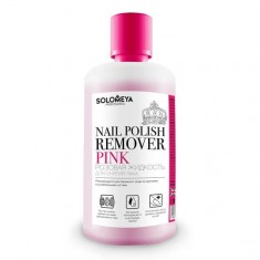 SOLOMEYA Жидкость для снятия лака розовая / Pink 150мл