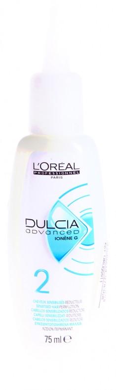 "LOREAL PROFESSIONNEL Лосьон №2 для чувствительных волос ""Дульсия Эдванст"" / DULCIA ADVANCED Ionène G 75мл"