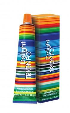 CONSTANT DELIGHT ДТ 6-68 крем-краска стойкая для волос, темно-русый шоколадный красный / Delight TRIONFO 60 мл