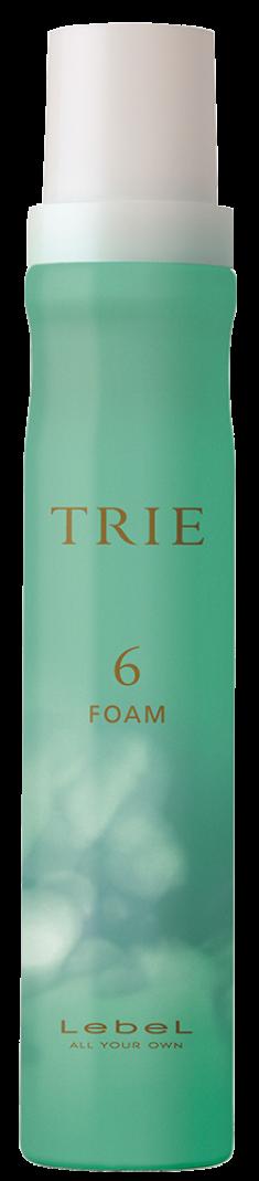 LEBEL Пена для укладки волос средней фиксации / TRIE FOAM 6, 200 мл