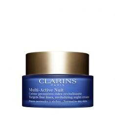 CLARINS Ночной крем для предотвращения первых возрастных изменений с обновляющим действием для нормальной и сухой кожи MULTI-ACTIVE 50 мл