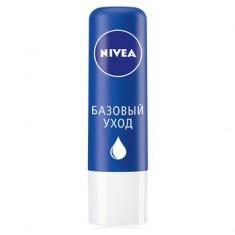 Нивея Бальзам для губ Базовый уход (синий) NIVEA