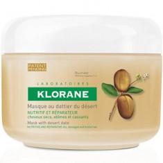 Клоран (Klorane) Питательно-восстанавливающая маска с маслом финика пустынного для поврежденных волос 150 мл