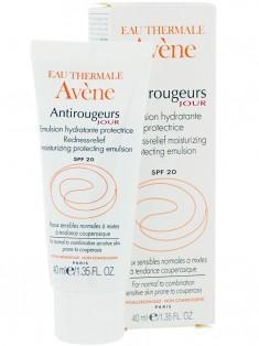 Avene (Авен) Антиружер Дневная увлажняющая эмульсия от покраснений SPF20 для нормальной и комбинированной кожи 40 мл