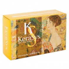 Керасис (KeraSys) Мыло Витал энерджи 100 g желтое