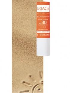 Uriage (Урьяж) Барьесан Солнцезащитный стик для губ SPF30 с маслом карите и авокадо 4 г