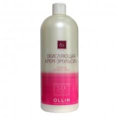 Оллин/Ollin Professional silk touch 6% 20vol Окисляющая крем-эмульсия 90мл