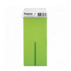 Жирорастворимый воск с ароматом киви с широким роликом, 100 мл (Kapous Professional)