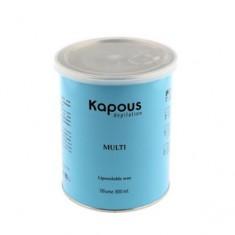 Жирорастворимый воск с тальком в банке, 800 мл (Kapous Professional)