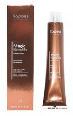 """Крем-краска для волос с кератином """"Non Ammonia"""", 7.32 золотисто-коричневый блонд, 100 мл (Kapous Professional)"""